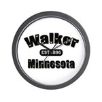 Walker Established 1896 Wall Clock