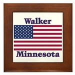 Walker Flag Framed Tile