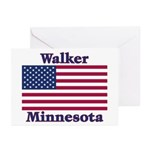 Walker Flag Greeting Cards (Pk of 10)