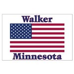 Walker Flag Large Poster