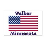 Walker Flag Mini Poster Print