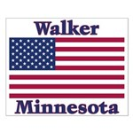 Walker Flag Small Poster