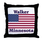Walker Flag Throw Pillow