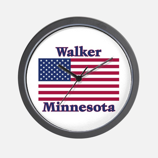 Walker Flag Wall Clock