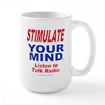 Talk Radio Large Mug