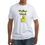 Walker Chick Fitted T-Shirt