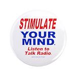 """Talk Radio 3.5"""" Button (100 pack)"""