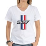 Engine 327 Women's V-Neck T-Shirt