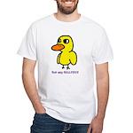 Duck Song (men) White T-Shirt