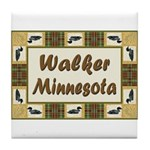 Walker Loon Tile Coaster