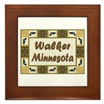 Walker Loon Framed Tile