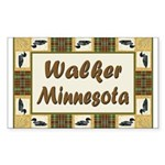 Walker Loon Rectangle Sticker 10 pk)