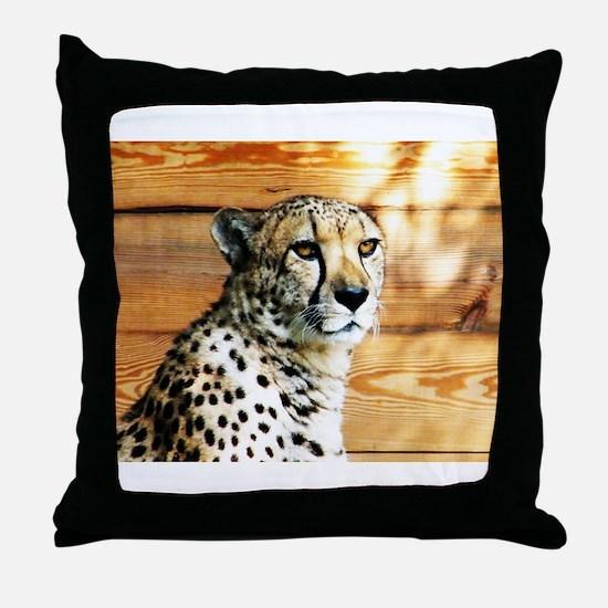 Cool Cat eyes Throw Pillow