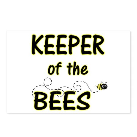 Keeper of Bees Postcards (Package of 8)
