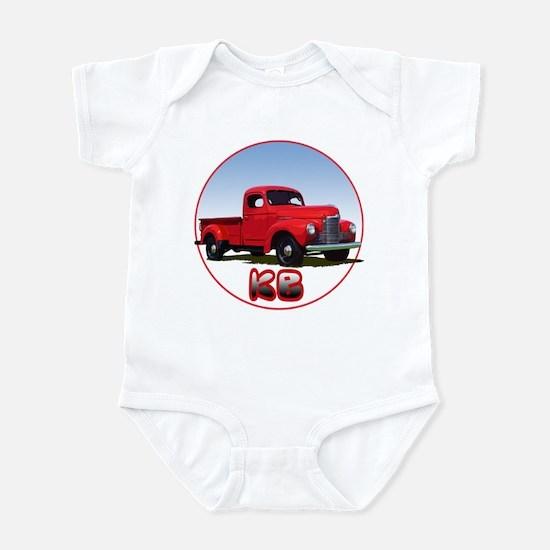 The KB pickup truck Infant Bodysuit