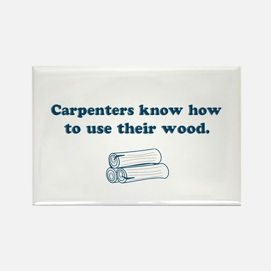 Funny Carpenters Rectangle Magnet