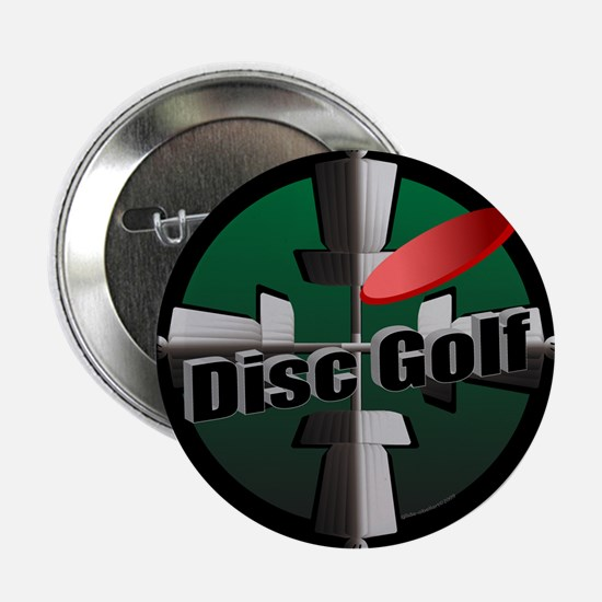 "Disc Golf Site 2.25"" Button"