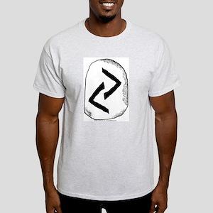 Viking Rune Jera Ash Grey T-Shirt