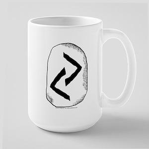 Viking Rune Jera Large Mug