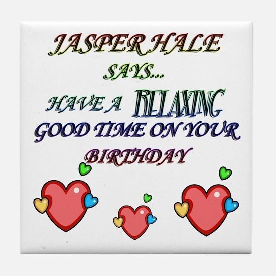 Unique Team jasper Tile Coaster