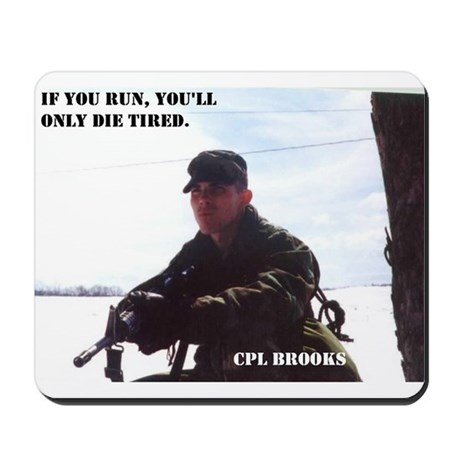 CPL Brooks Mousepad
