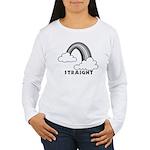 Straight Women's Long Sleeve T-Shirt