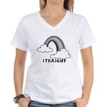 Straight Women's V-Neck T-Shirt