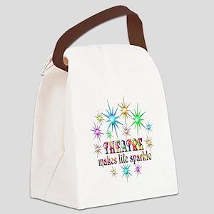 Theatre Sparkles Canvas Lunch Bag