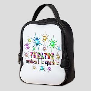 Theatre Sparkles Neoprene Lunch Bag