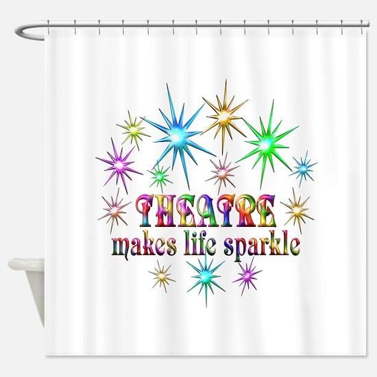 Theatre Sparkles Shower Curtain
