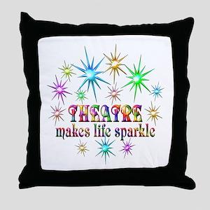 Theatre Sparkles Throw Pillow