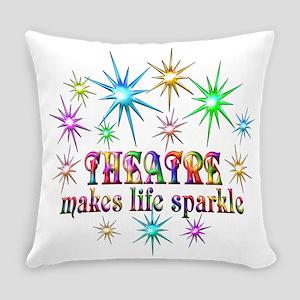 Theatre Sparkles Everyday Pillow