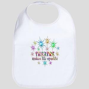 Theatre Sparkles Cotton Baby Bib