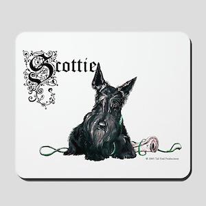 Celtic Scottish Terrier Mousepad