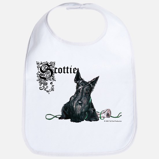 Celtic Scottish Terrier Bib