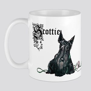 Celtic Scottish Terrier Mug