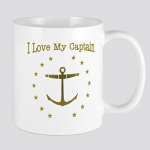 I Love My Captain: Mug