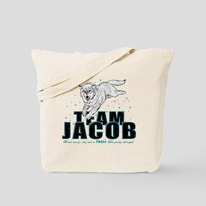 Wolf Jacob Tote Bag