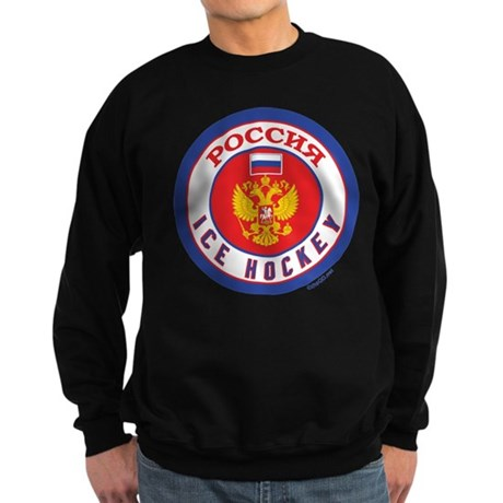 RU Russia/Rossiya Hockey Sweatshirt (dark)