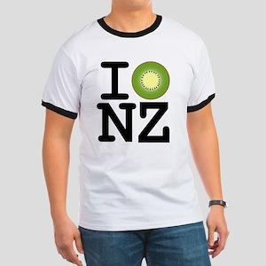 I Kiwi NZ Ringer T