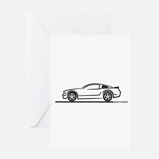2010 Ford Mustang GT Greeting Card