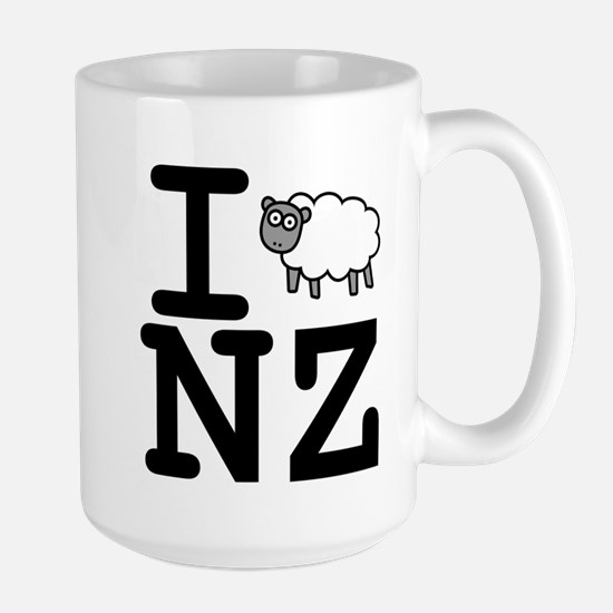 I Sheep NZ Large Mug