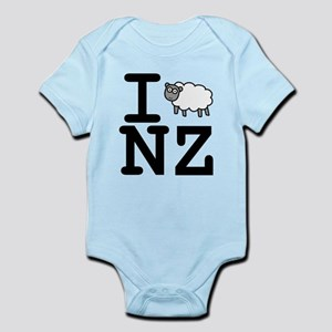 Nz Sheep Baby Clothes Accessories Cafepress