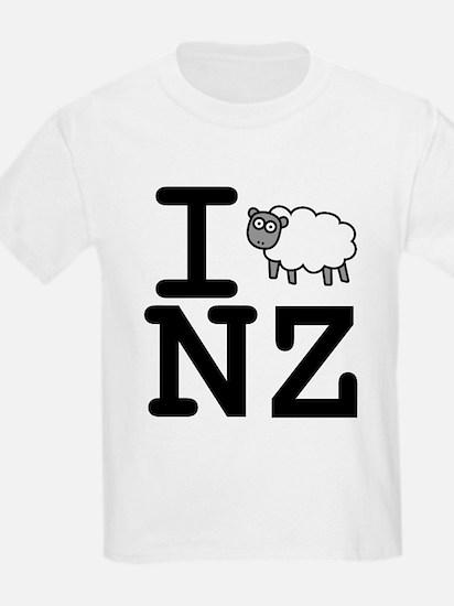 I Sheep NZ T-Shirt