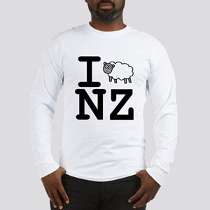 I Sheep NZ Long Sleeve T-Shirt