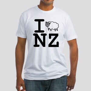 I Sheep NZ Fitted T-Shirt