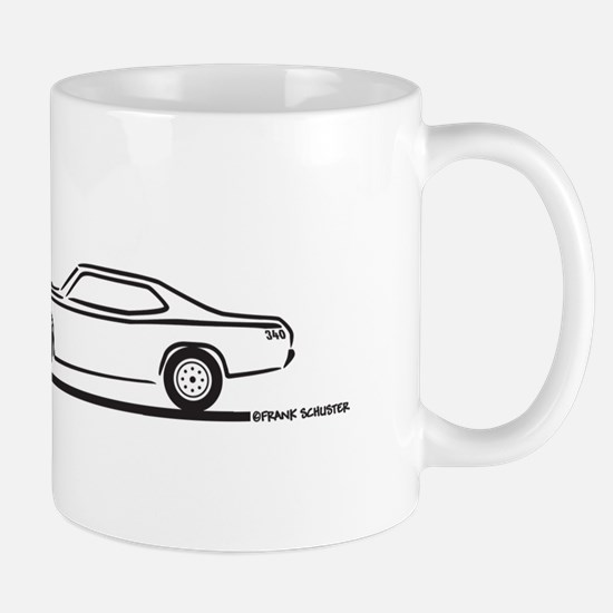 1971 Plymouth Duster Mug