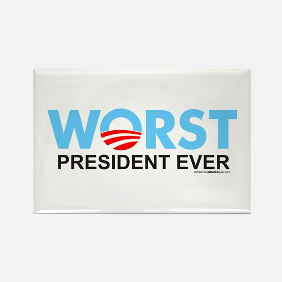 Worst President Ever Rectangle Magnet (10 pack)