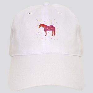 Happy Valentine Horse Cap