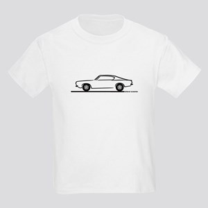 1968 Plymouth Barracuda Kids Light T-Shirt